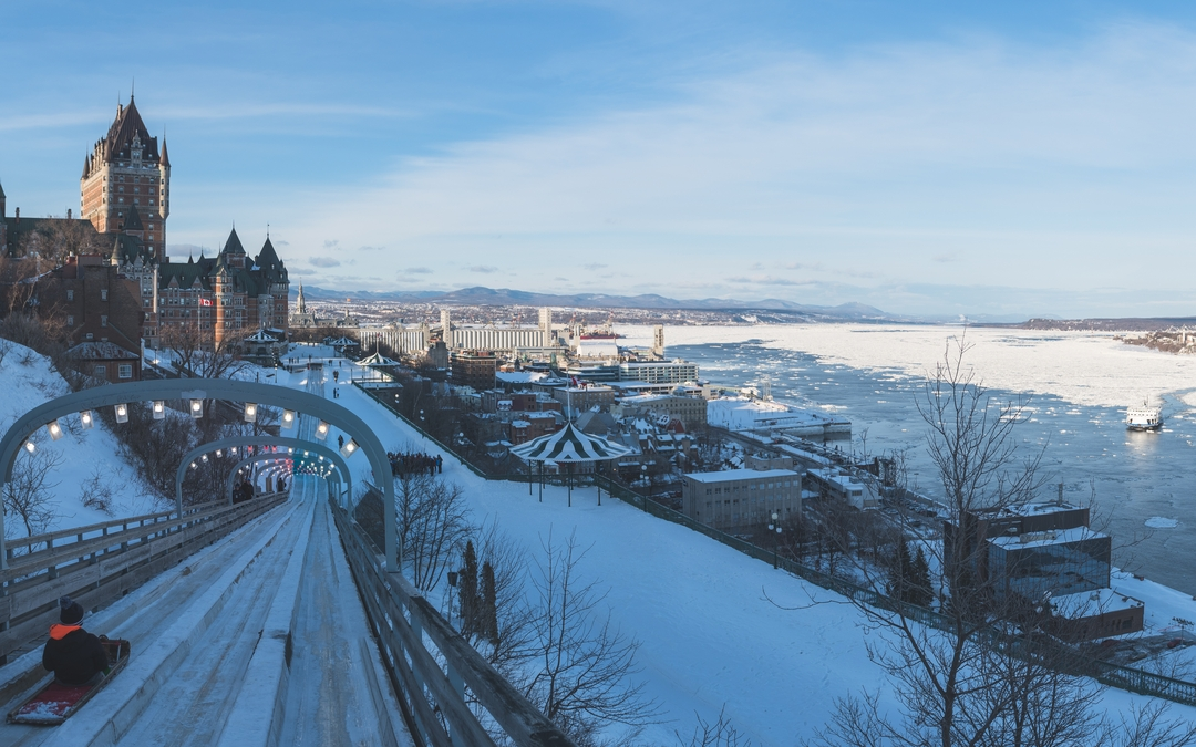 Quebec City touristic growth in winter